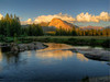 Sunset, Lembert Dome, Tuolumne Meadows, Yosemite National Park, US