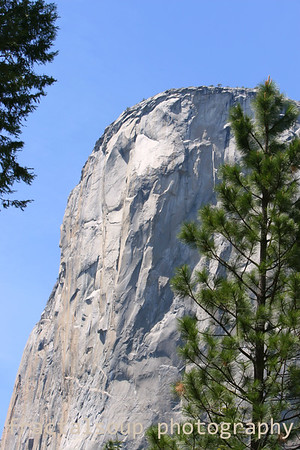 El Capitan Mountain in Yosemite National Park