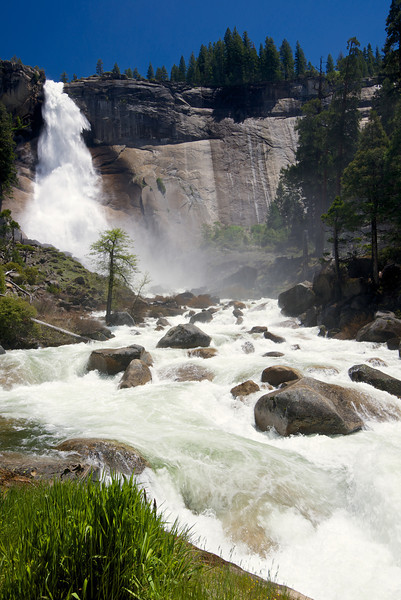 Nevada Falls, Merced River, Yosemite National Park