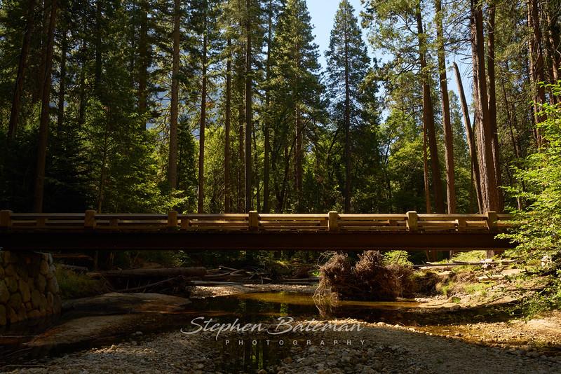 Bridge over dry creek