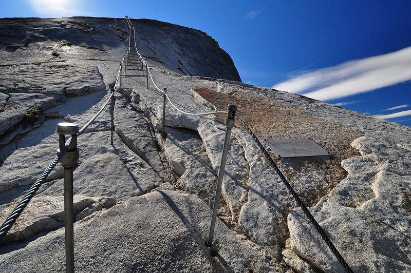 Half Dome Cables, Yosemite National Park.