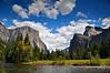 El Capitan, Bridalveil Falls, Valley View, Yosemite National Park