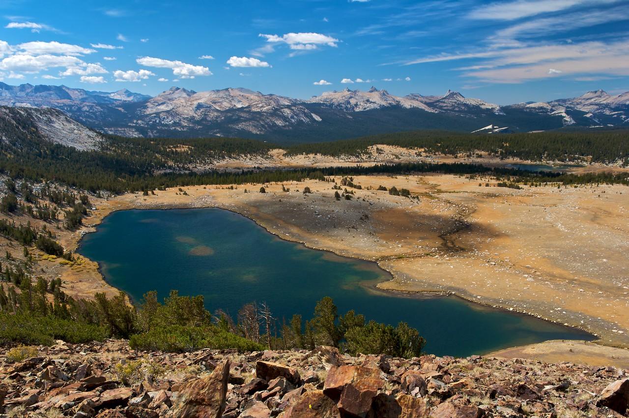 Gaylor Lakes Basin, Yosemite National Park