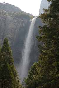 Bridal Veil Falls, Yosemite in June - after heavy 2006 winter