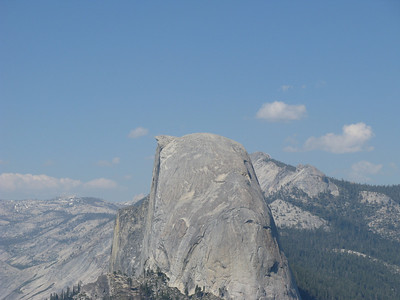 The Half Dome from the side