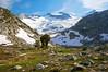 Lyell Cirque, Mt Lyell, Lyell Glacier, and Mt. McClure, near Donohue Pass, Yosemite National Park