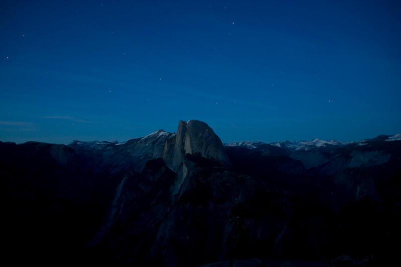 Night Fall at Glacier Point