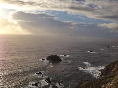 Ocean View Along Highway 1 in Big Sur