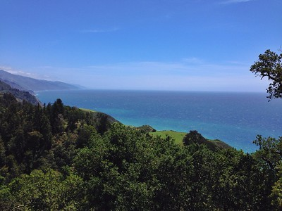 Beautiful Ocean View from Nepenthe in Big Sur