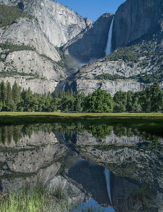 Iconic Yosemite Falls