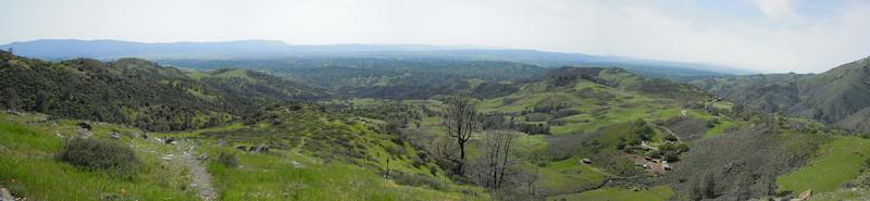 Rolling Hills of Los Olivos, Ca.