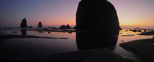 Sunset at Cannon Beach, Or.