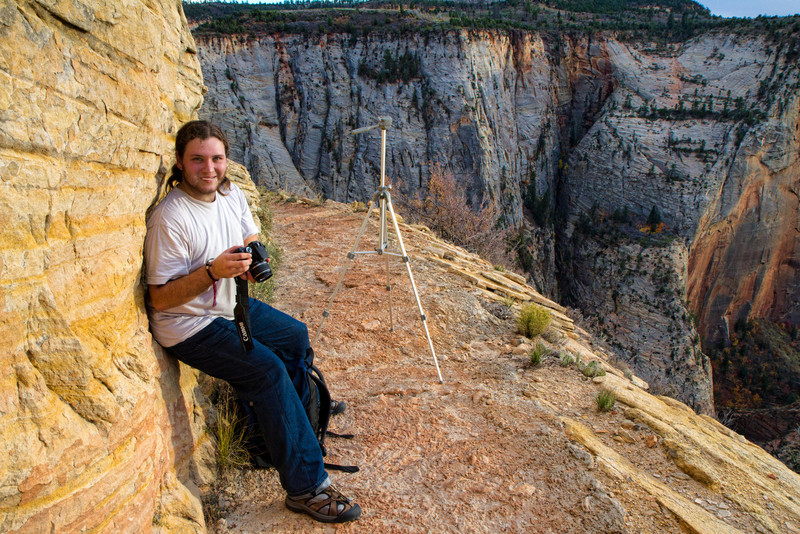 David, Zion Observation Point Trail, November 7 2010