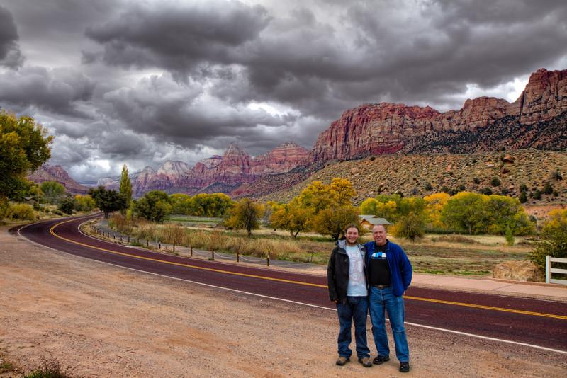 David and Chip, Zion, November 8, 2010