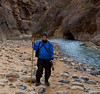 "I rented a wetsuit and a small dry pack for my camera. Good thing about the dry pack. A young couple reeled me in after I fell almost fully submerged in a rapids crossing and ""float-flopped"" by them! The heavy one piece suit did not let in a drop of water (or air-ouch!). I was a steamy, sweaty mess by day's end."