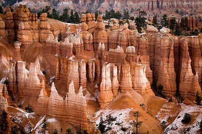 Hoodoo Close-Up - Bryce Canyon National Park