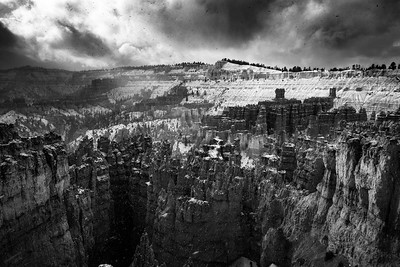 Bryce Snow Storm