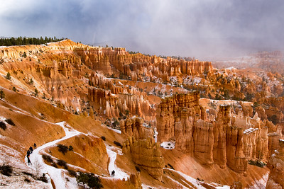 Bryce Canyon National Park - Snowy Hoodoos