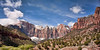 Condor Sacrifice<br /> <br /> The Towers of the Virgin are revealing themselves as snow-clouds remove their shroud<br /> <br /> Zion National Park, Utah, USA