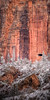 """Winter Window<br /> <br /> The mile long tunnel through Bridge Mountain is lit by three """"windows"""" carved into the side of the mountain, even providing enough light during the winter months<br /> Zion National Park, Utah, USA"""