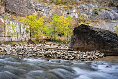 Utah Canyon with Fall Colors 3