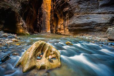 Utah Canyon Glow 1