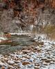 Winters Blanket Over The Virgin River