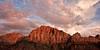 Watchman Sunset II<br /> <br /> Last light on the Watchman<br /> Springdale, Utah, USA