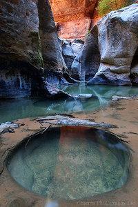 Mystic Pool - Zion National Park Utah