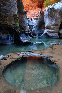 Mystic Pool - Zion National Park Utah