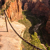 1681  G Angels Landing Trail and Chain V