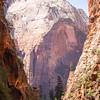 1736  G Zion Through Refrigerator Canyon V
