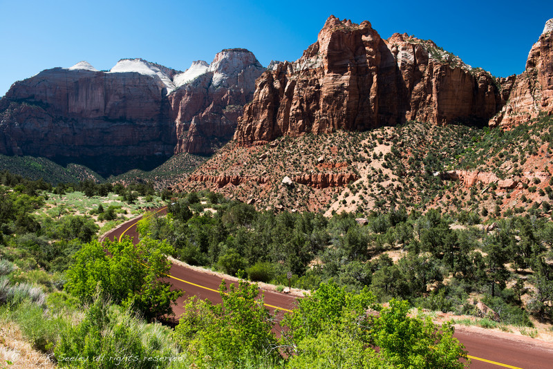 The road to Zion