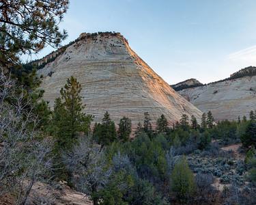 Checkerboard Mesa, Zion National Park, UT.