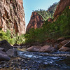 The Narrows. Zion National park