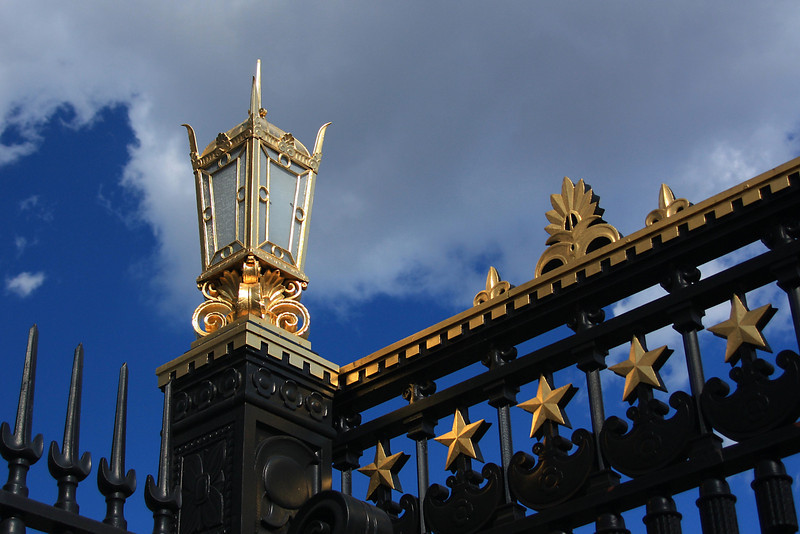 Gold on the Gate