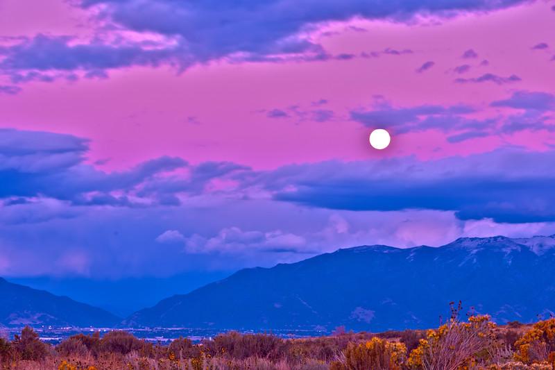 Antelope Island Moon Rise
