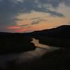 Sunset Over the Niobrara River, Nebraska