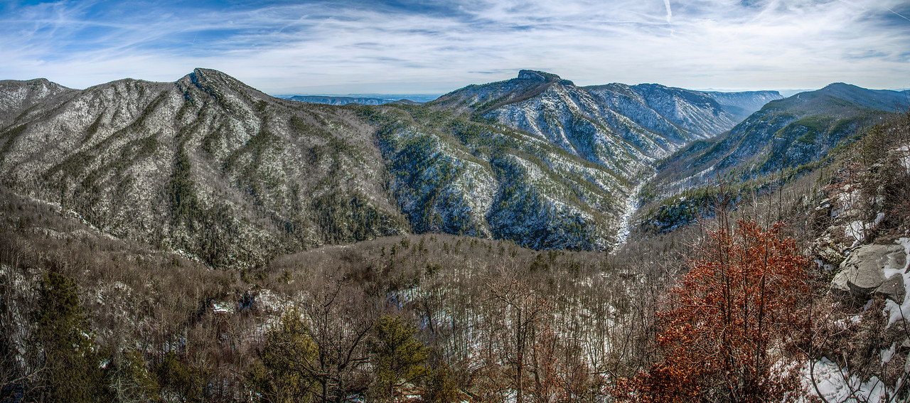 Linville Gorge Snow