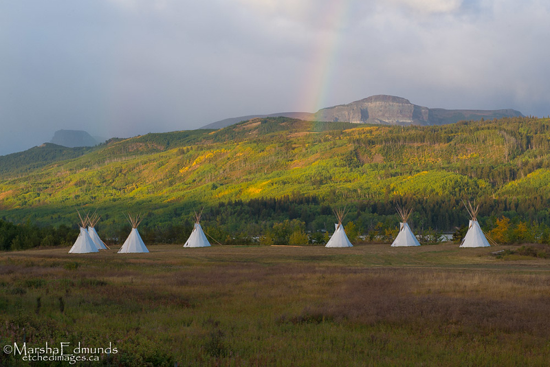 Blackfoot Tribal Camp-Chewing Blackbones Campground
