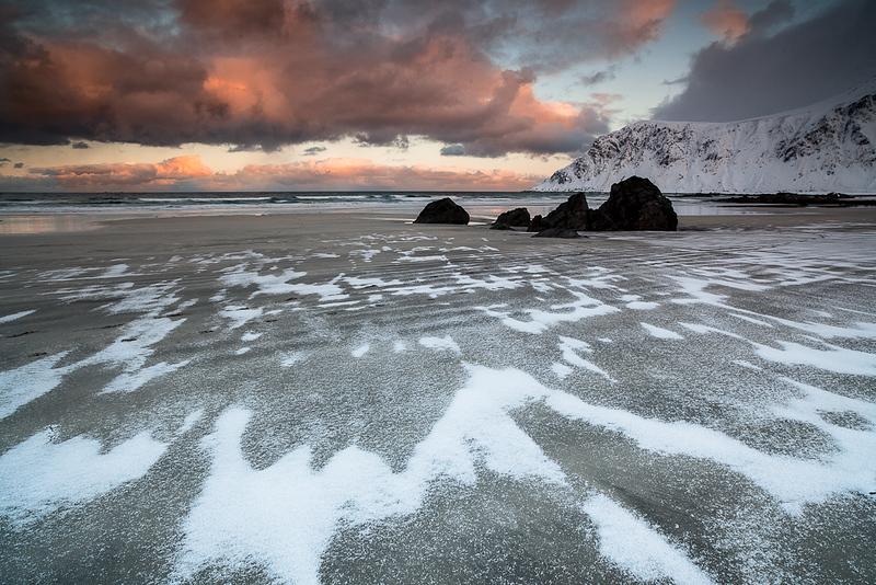 Flakstad beach Norway