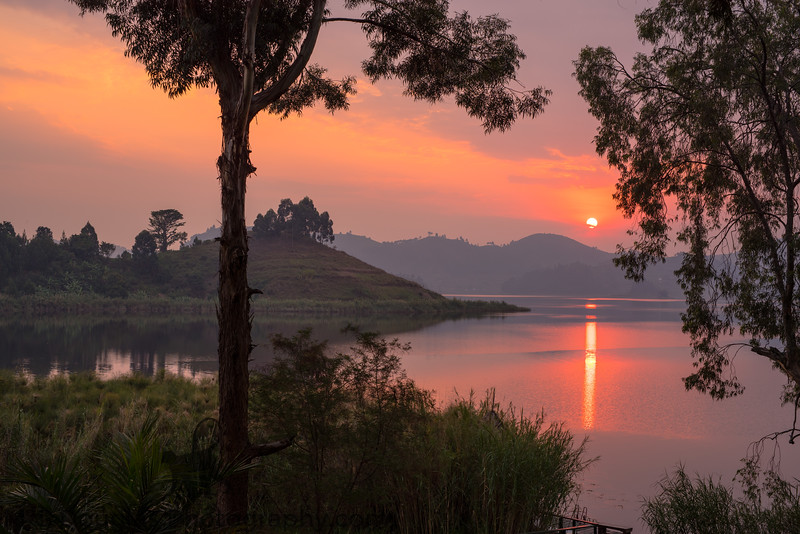 Lake Mutanda Sunset