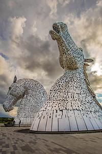 Kelpies Statues Scotland
