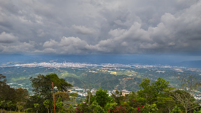 Clouds over Bucaramanga