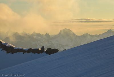 Sunrise & Mist...Mt Baker, WA