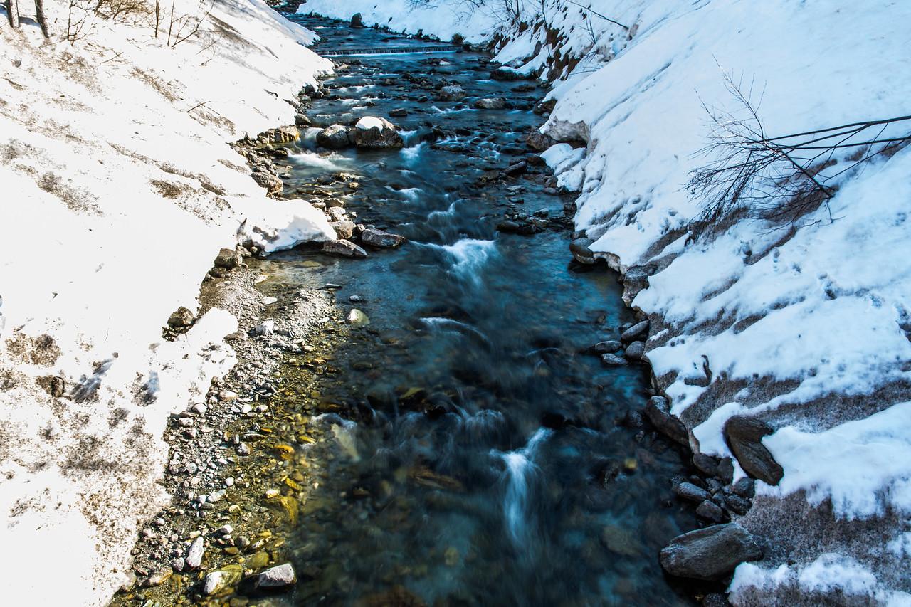 Little Creek in the Alpes