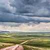 June 13 - Storm On The Horizon<br /> <br /> This image was taken on Marshall Road, near Medicine Bow, Wyoming.