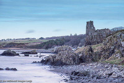 Ancient Ruins of Dunure Castle