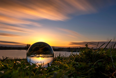 Sphere sunset...