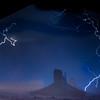 Lightning Storm Over Mittens